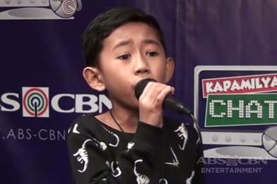 Joshua, nagpasikat sa Kapamilya Chat