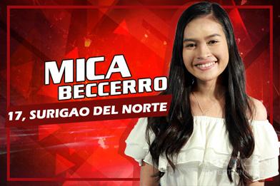 Team Lea: Mica Becerro - Surigao Del Norte