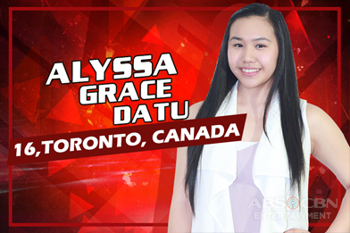 Team Sharon: Alyssa Grace Datu - Canada