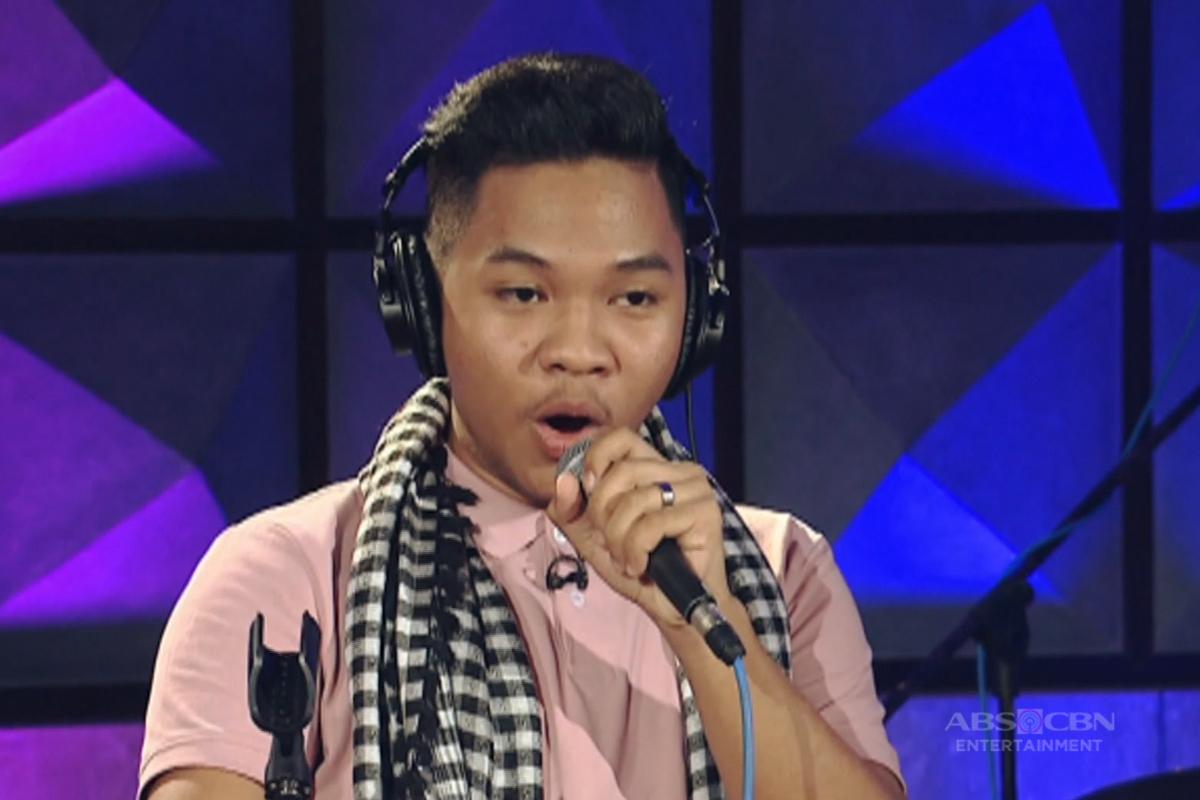 Team Bamboo Live Show Rehearsal: Emarjhun de Guzman