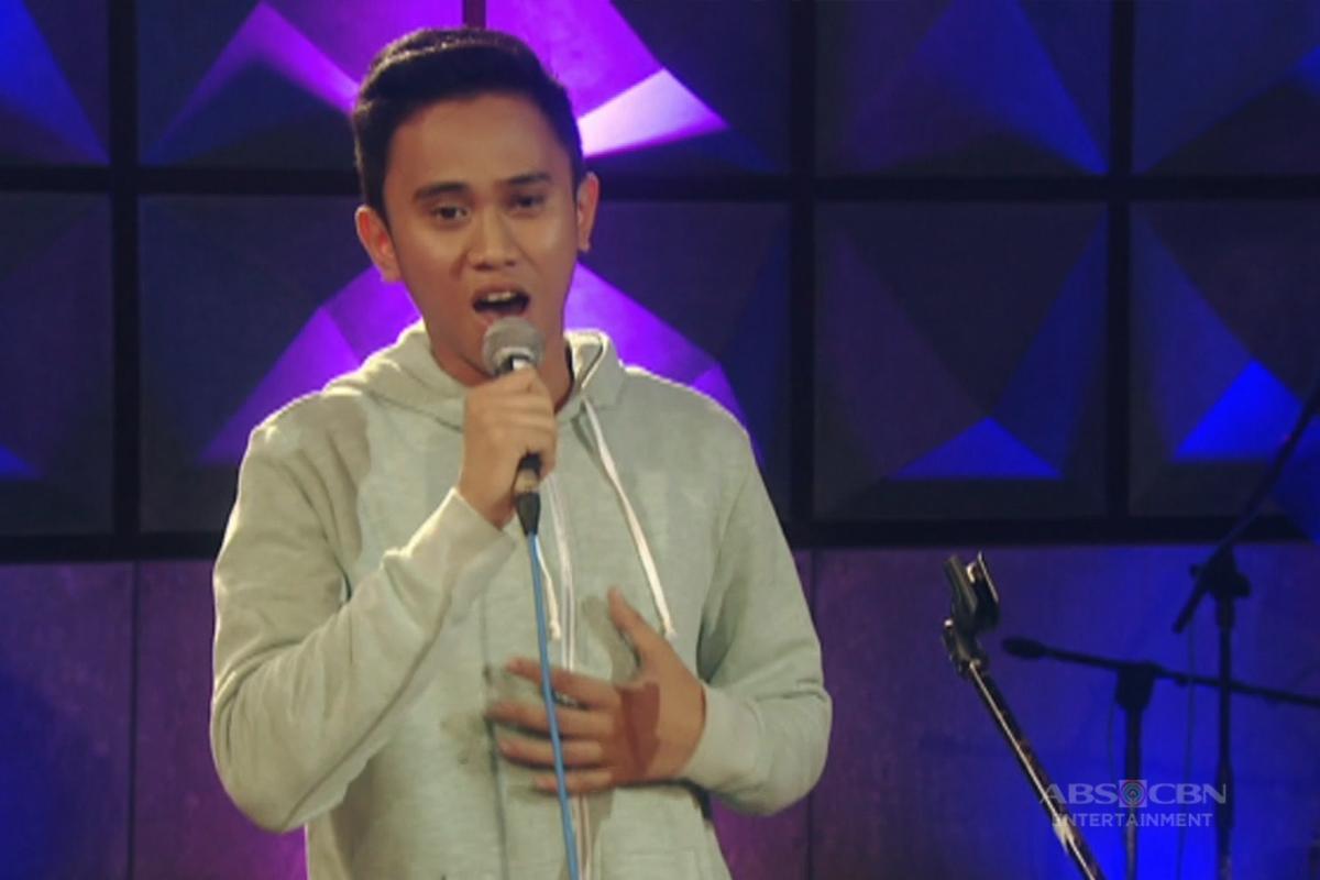 Team Sarah Live Show Rehearsal: Ivan Navares