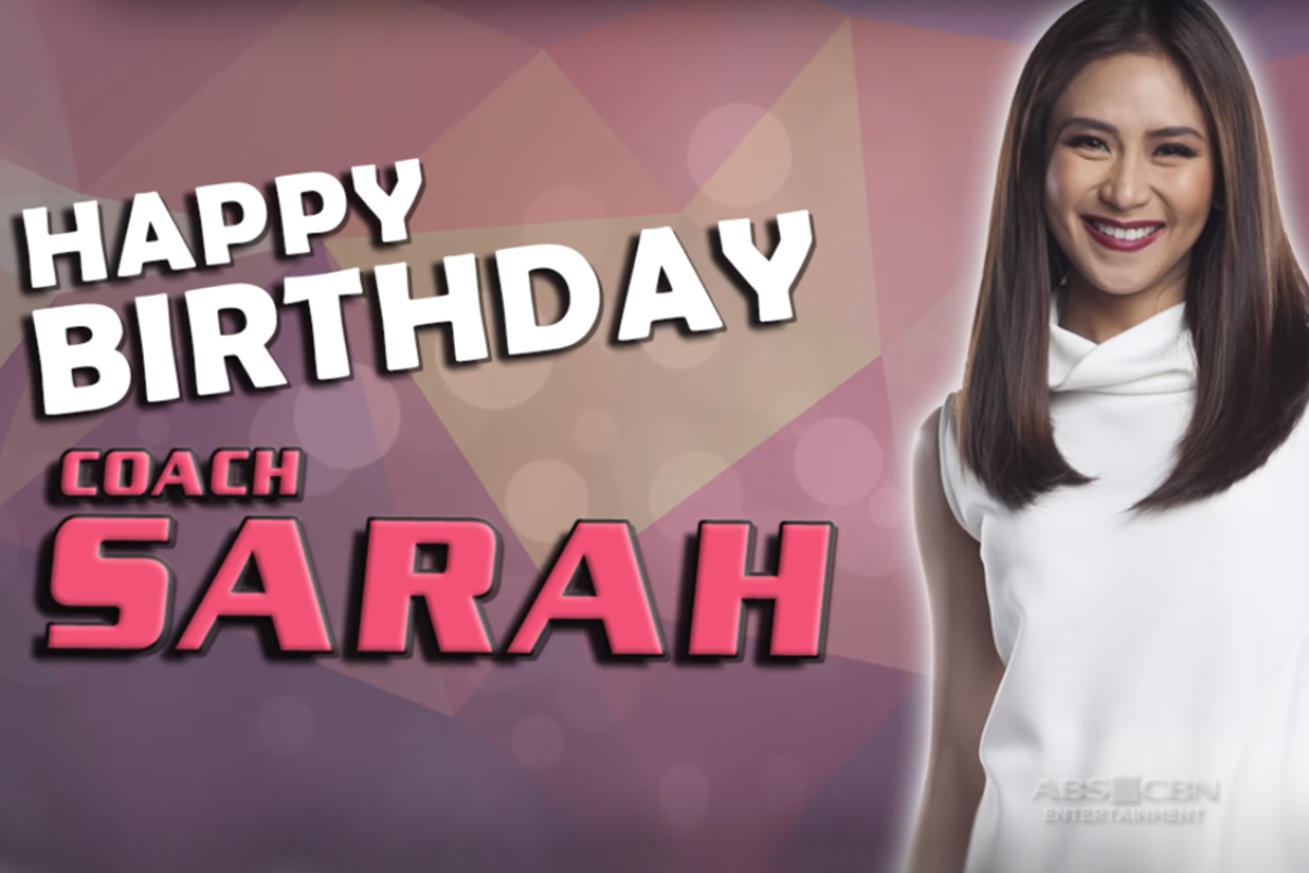 The Voice Teens: Top 12 Artists wish Coach Sarah a happy birthday!
