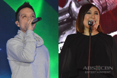 PHOTOS: The Voice Kids coaches Bamboo and Sharon join forces at the Gabi Ng Pangarap: The ABS-CBN Trade Event 2016