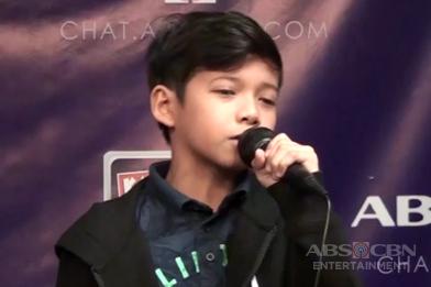 Justin, nagpasikat sa Kapamilya Chat