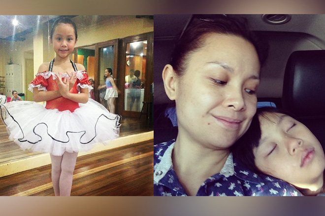 LOOK: Meet Lea Salonga's real-life young artist in these adorable photos