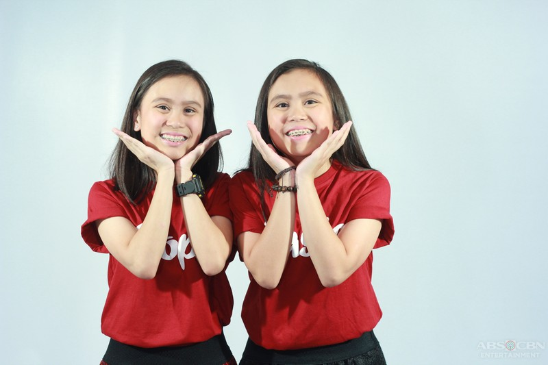 Pictorial Photos: Kathlene and Arlene Badong of Team Sharon