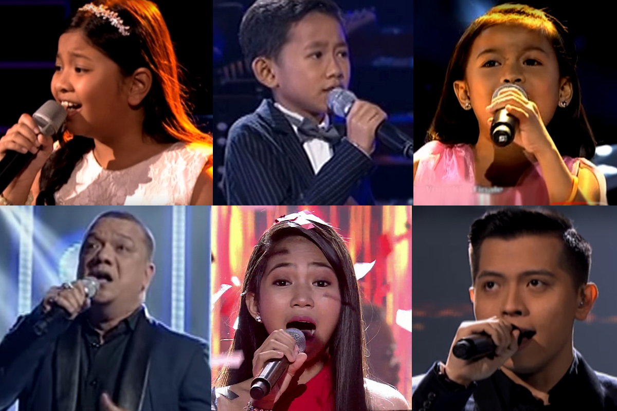 """The Voice Philippines"": Winning Performances Through The Years"